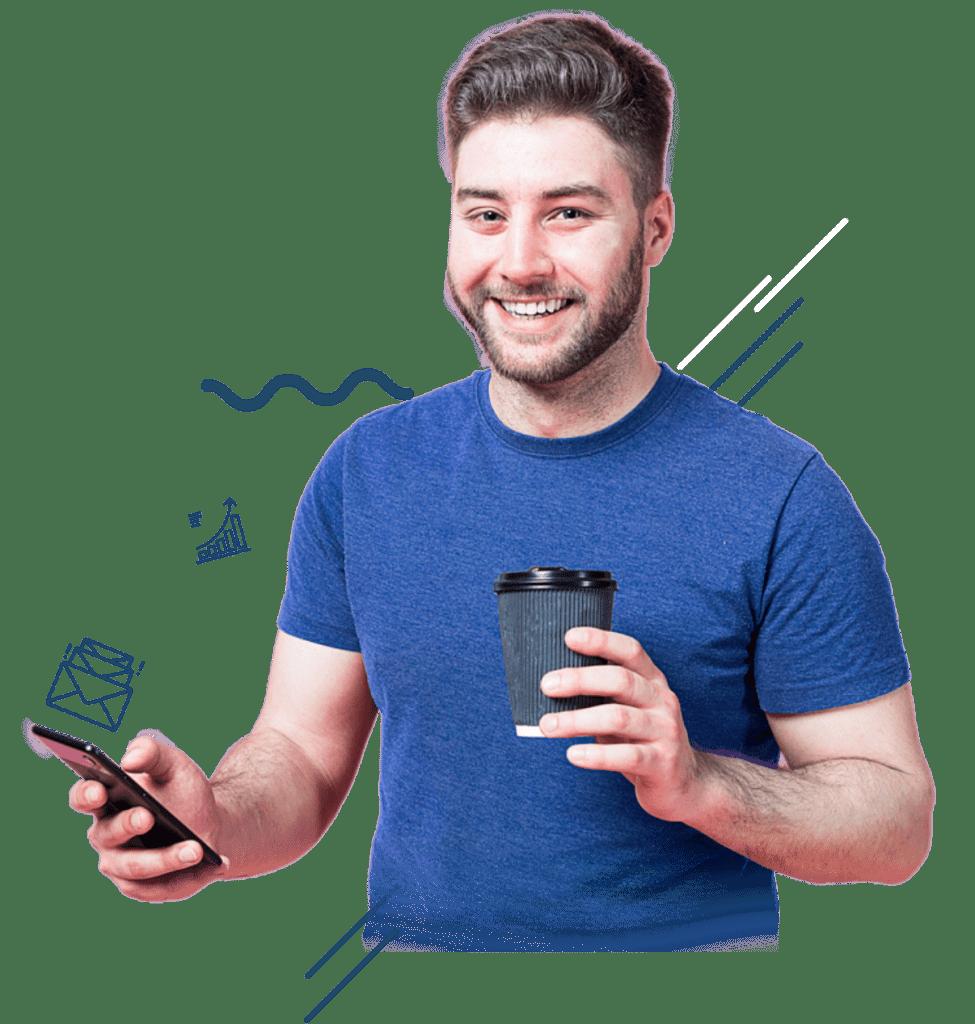 Descubra um mundo de possibilidades, mantenha o seu cliente informado com a melhor ferramenta de disparo de SMS em massa.