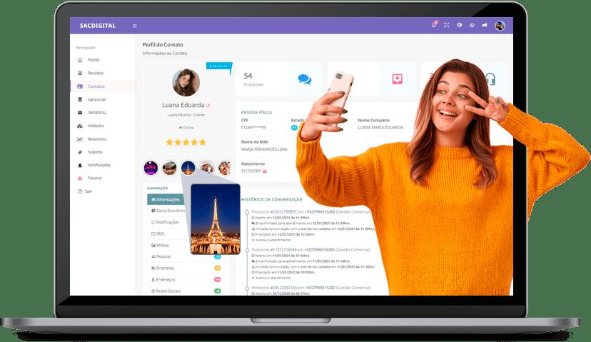 Plataforma de Atendimento por WhatsApp mostra as postagens de status dos clientes
